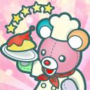 布偶动物的餐厅最稀有的熊