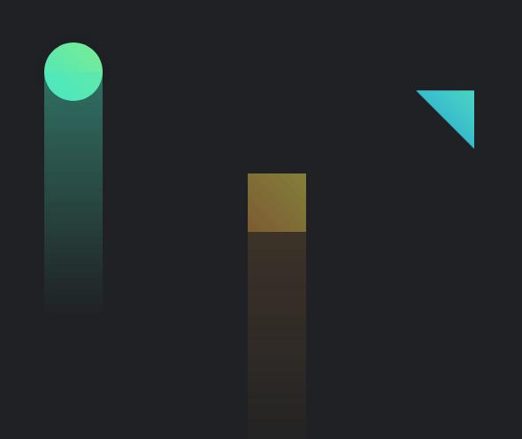 纯css3几何图形背景特效代码 图形上升适用于网页背景动画特效