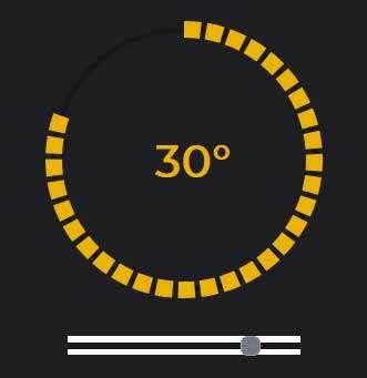 html5基于svg绘制圆形虚线进度条特效代码