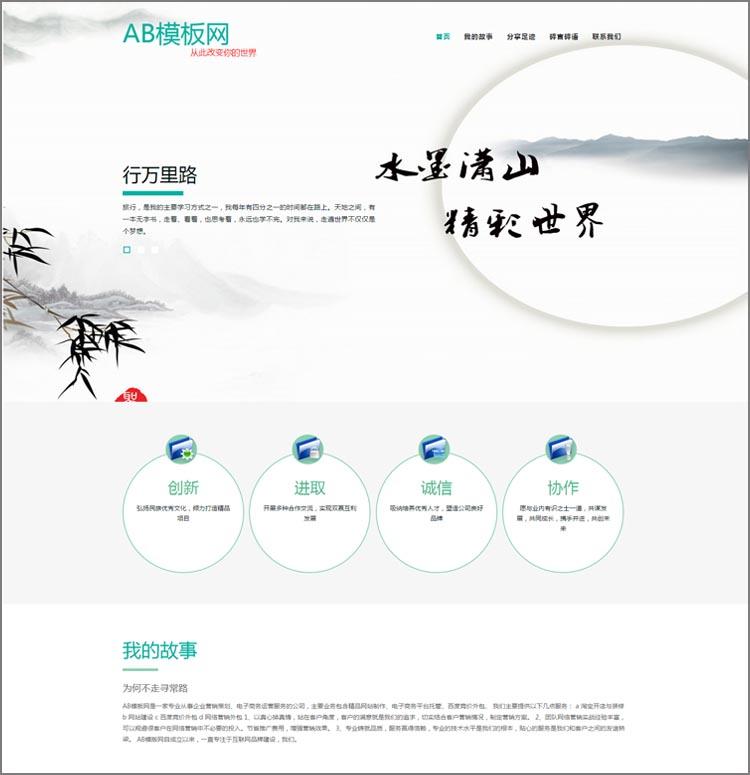 DEDEcms织梦响应式个人博客文章类网站织梦模板源码 PHP模板