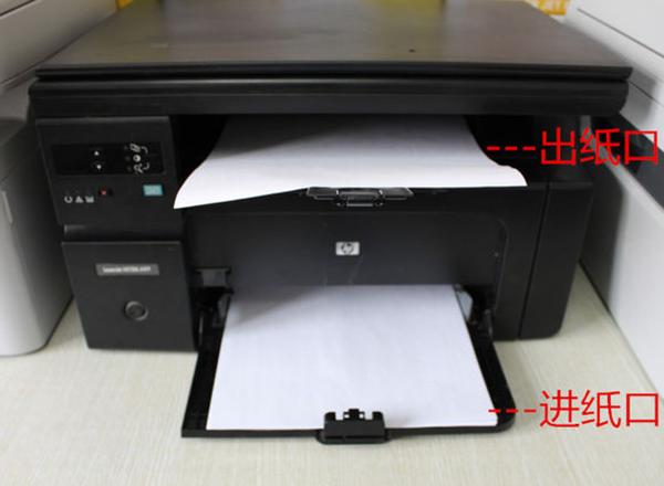 复印机扫描