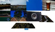 酷炫的html5相册图片代码 jquer打开图片排列动画特效