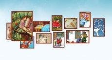 图片放大缩小仿谷歌使用jQuery的圣诞涂鸦图片特效