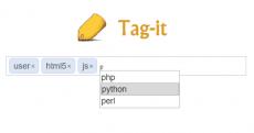 创建标签插件具有自动完成添加标签功能,简单可配置标签插件