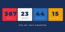 js简单的倒计时自定义日期时间倒计时代码。