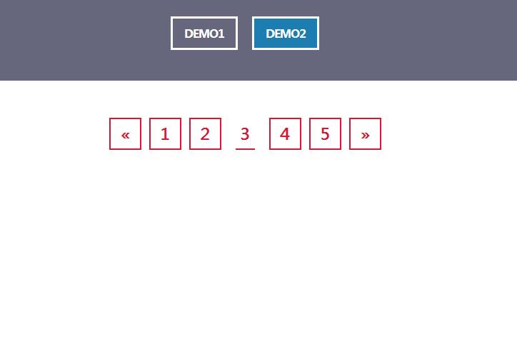 HTML5+CSS3-纯css3悬停分页动画特效