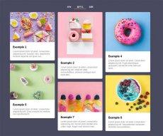 jQuery简单的图片瀑布流布局 分类菜单筛选