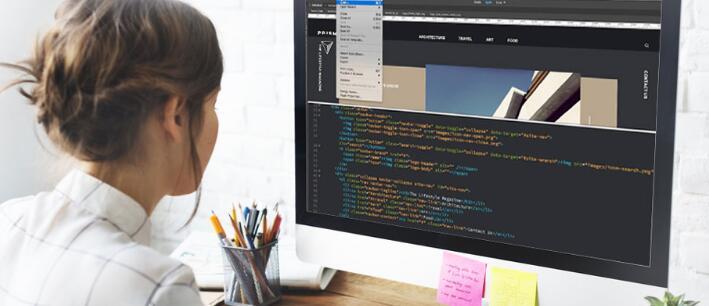 简单大气的企业网站如何设计?