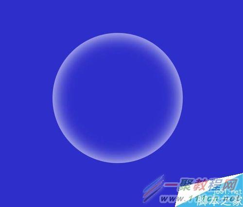 用比较柔和的画笔画出高光部分.如图.-怎样用ps简单制作透明的泡